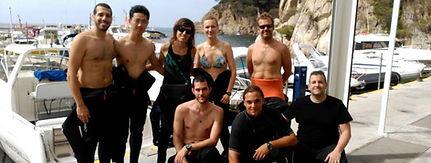 SSI PADI buceo Barcelona submarinismo dive scuba diving scuba diver