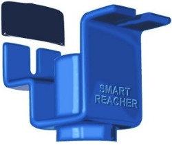 Smart Reacher Pole Attachment Tool w/1-Vinyl End Cover