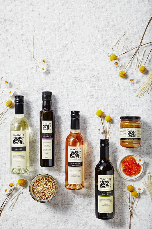 Maggie Beer product, still life styling