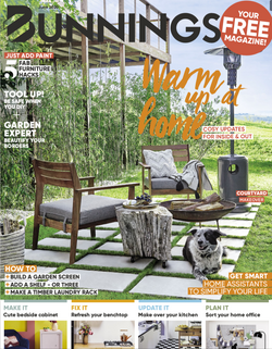 Styling for Bunnings magazine cover Photography by Sue Stubbs