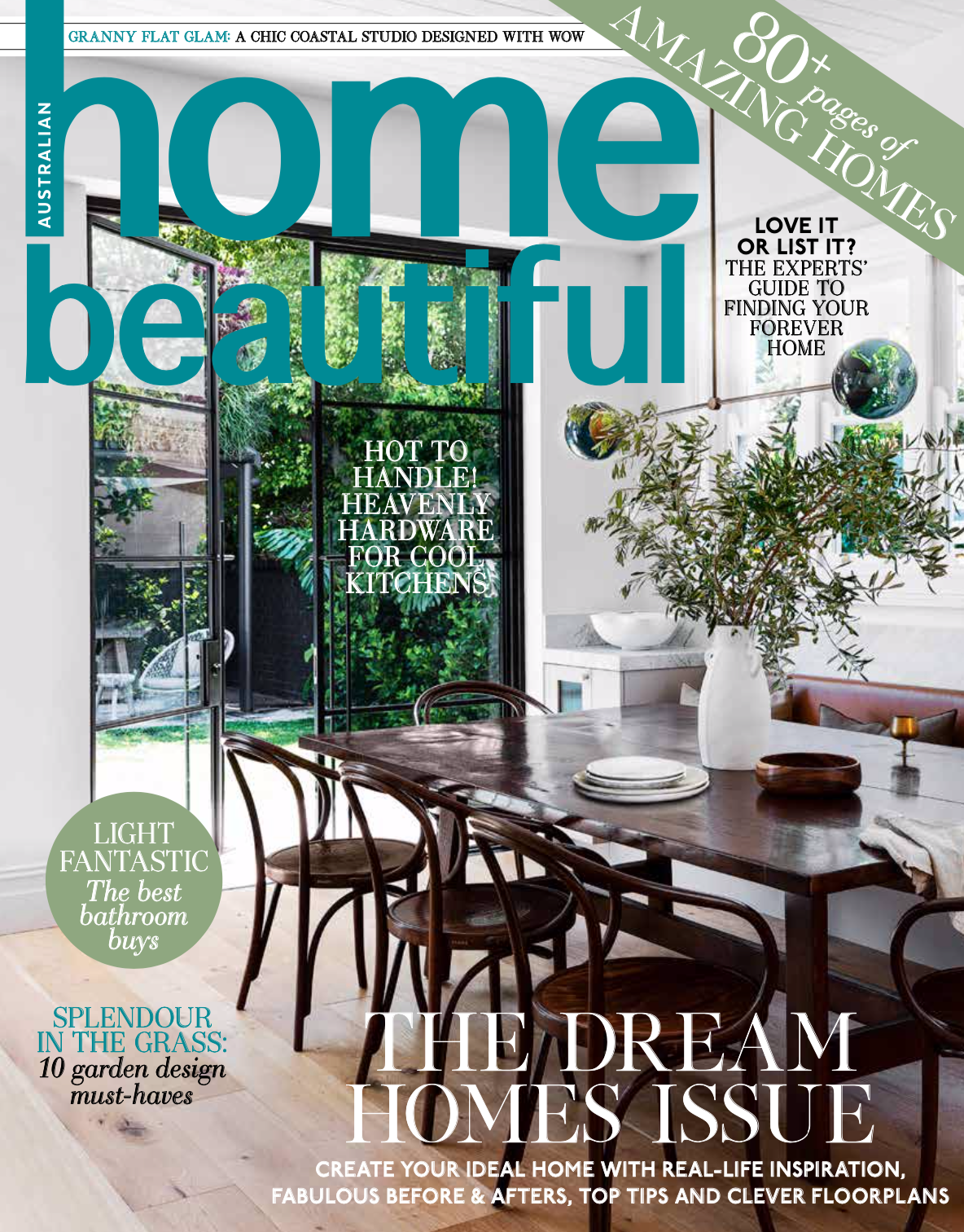 Editorial styling and feature writing for Home Beautiful with photography by Simon Whitbread