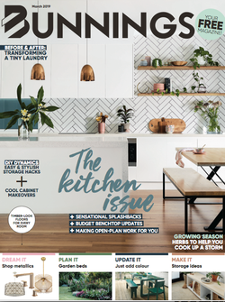 Styling for Bunnings Magazine launch issue, photography by Sue Stubbs