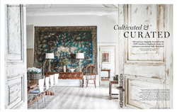 Editorial styling and feature writing for House & Garden with photography by Sue Stubbs
