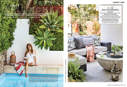 Editorial styling for Home Beautiful Magazine Celebrity Issue, shot by Sue Stubbs