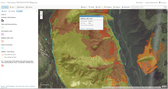 ArcGIS Online – Forest Practices Branch