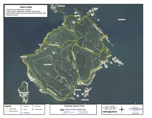 Portland Island Trails