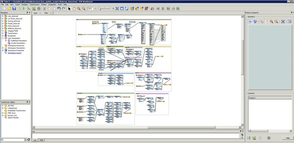 FME – Central Saanich Web Mapping