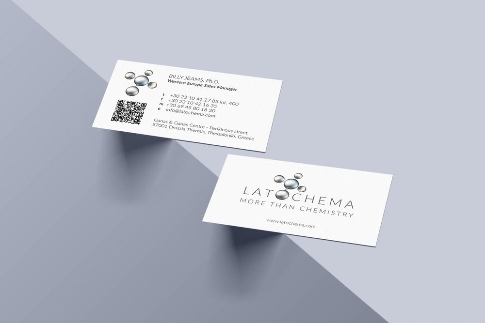 Business card - Latochema