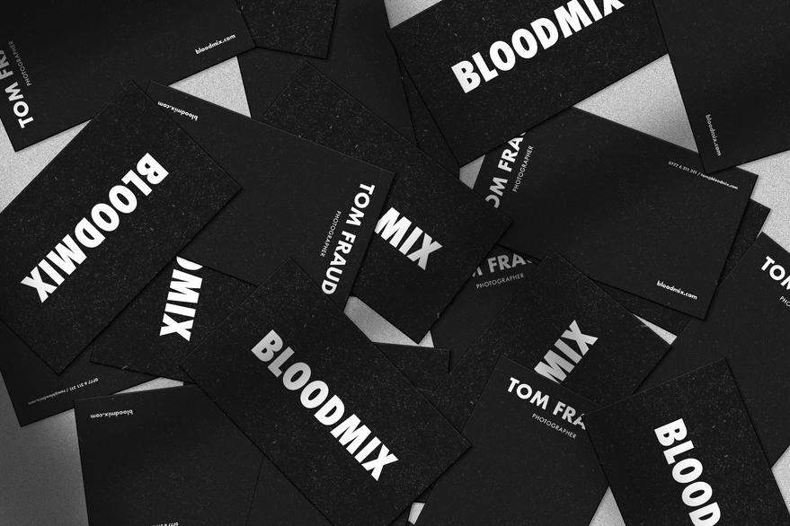 Bloodmix Visual Identity