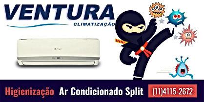Orçamento manutenção par limpeza higienização de ar condicionado split no  bairro cidade monções