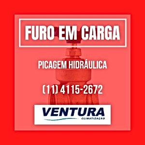 PERFURAÇÃO TUBOS EM CARGA VÁLVULAS