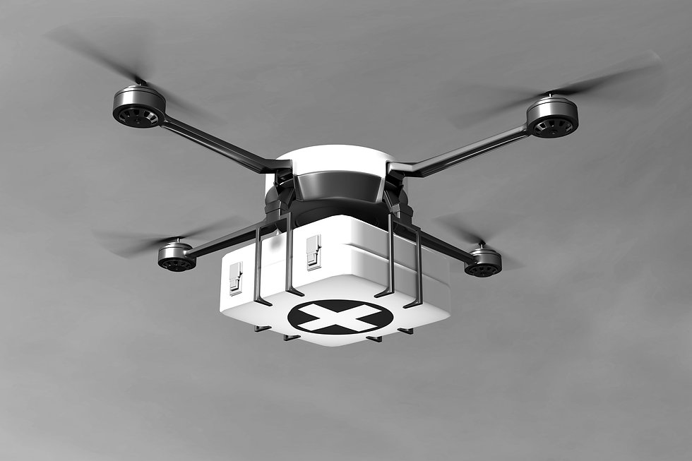 drone urgence