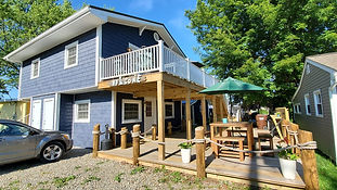 Beautiful lake view cottages for rent in Geneva on the Lake, OH. Across from Lodge. Walking distance to popular attractions such as marina, Breakwater Beach, and the strip. 30+ wineries in a 15 mile radius. You'll love staying in these new units.