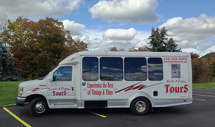 Offering tours of local wineries, covered bridges, and places of interest. We offer winery tours with worry free transportation. We specialize in wineries of the Geneva and Grand River Valley area. We can customize tours to meet your needs for winery tours in Geneva.