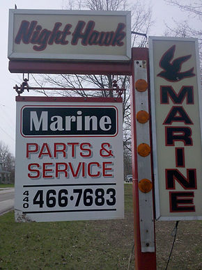 Nighthawk Marine LLC is a certified Mercruiser facility. We offer repair, parts and service We make dock calls to Geneva and Ashtabula. Service to most marine engines, outboard, inboard and I/O. We have 2 certified mercruiser technicians on staff.  Winterizing and/or shrinkage at the end of the season as well as winter storage. Looking for a place to dry dock or store your boat during the summer,  we have that too.