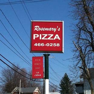 Local pizzeria.