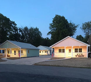 Built in 2019, these amazing cottages feature two bedroom, one handicap bathroom with walk-in shower, living room, kitchen, large covered porch. They are a fantastic place to come and enjoy the North Shore.