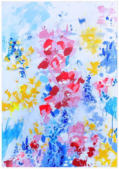 'Spring' 70 x 100 cm.
