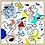 Thumbnail: 'Phases big' 80 x 80 cm.