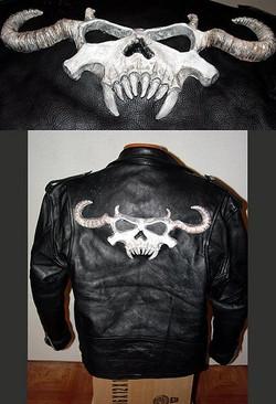 3D Skull Jacket logo