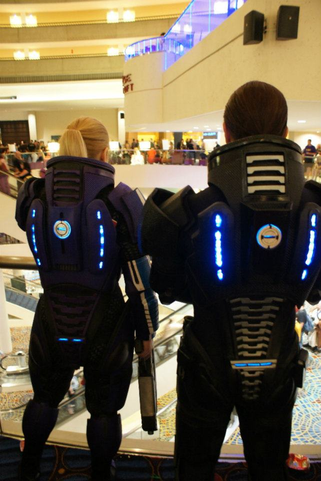 Male & Female Mass Effect Armor
