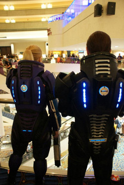 Male & Female Mass Effect Armor