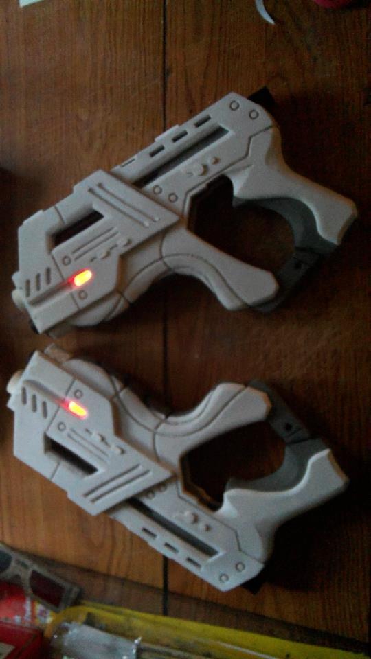 Mass Effect Pistols