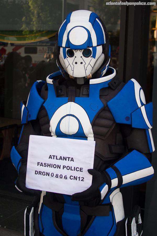 Blue Suns Mercenary Armor
