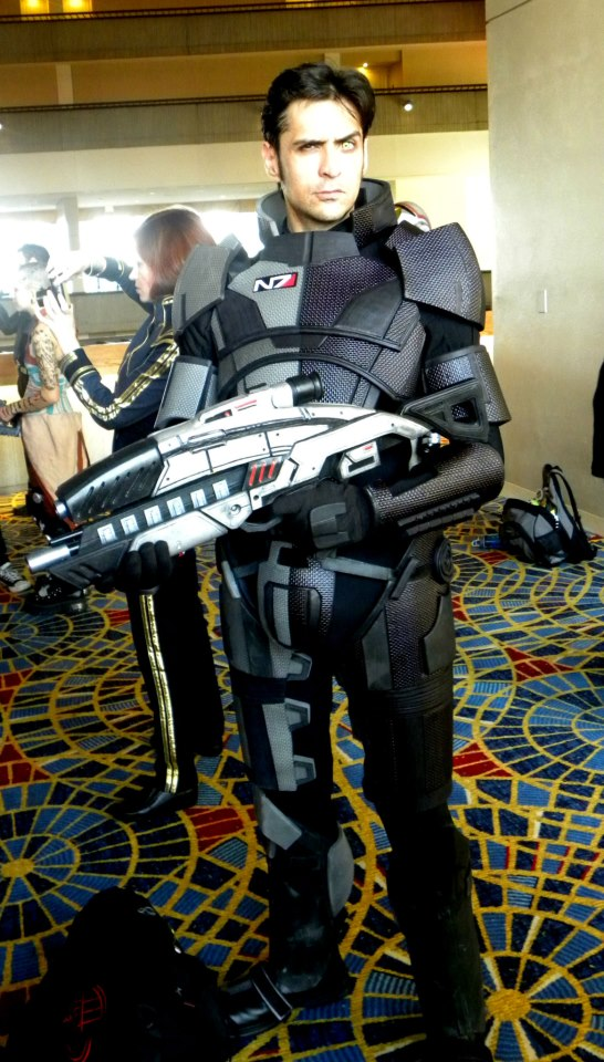 Custom Armor and Rifle for Mark Meer