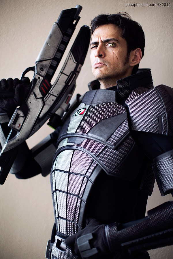 Custom Armor for Mark Meer