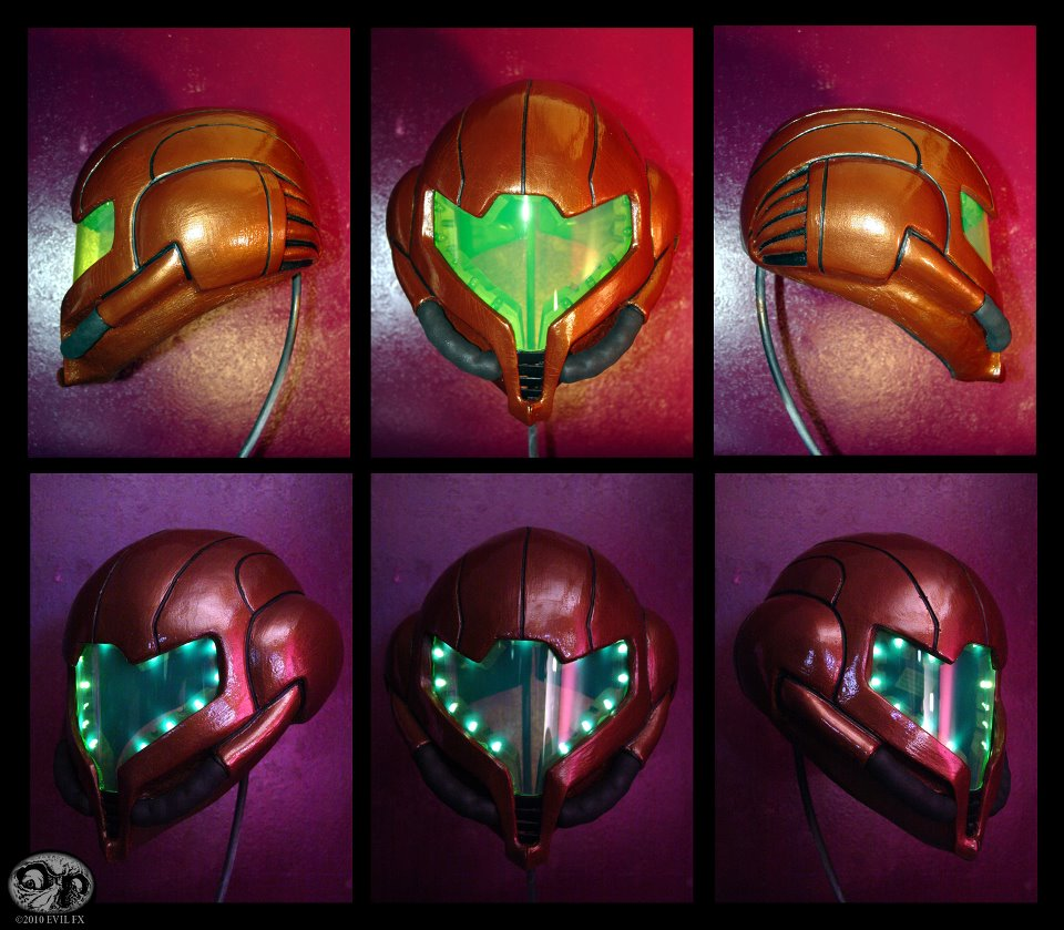 Metroid Helmet