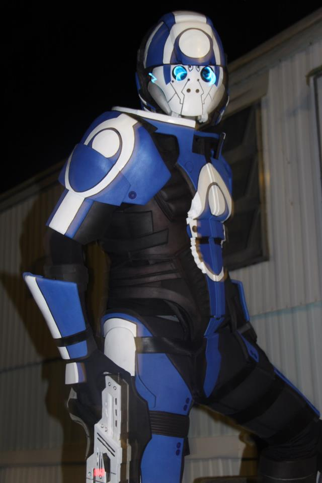 Blue Suns Mercenary Armor