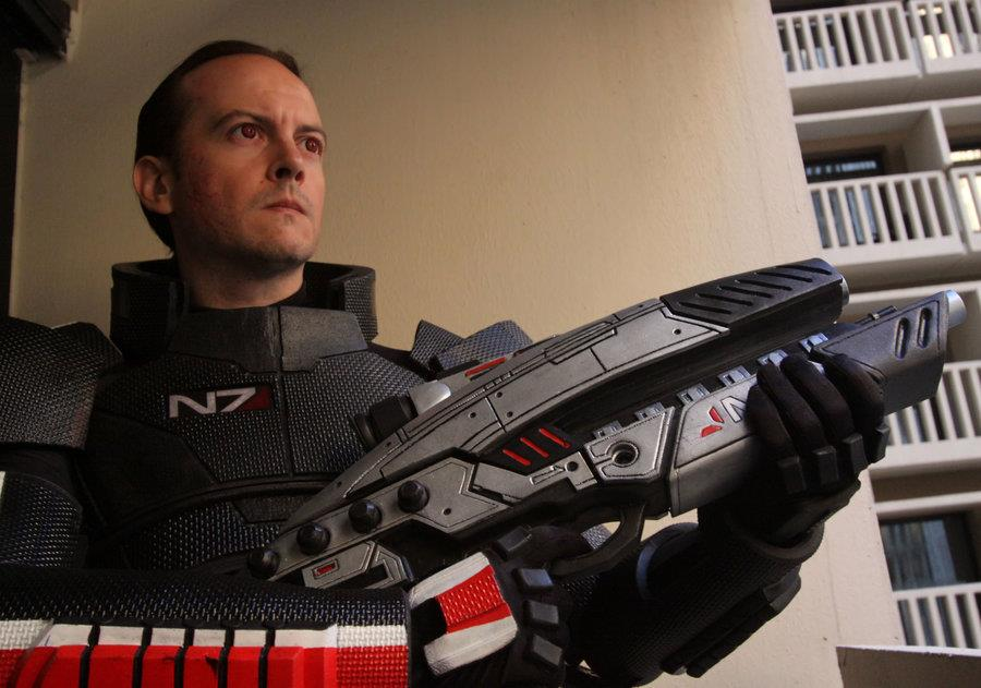Male N7 Armor & M8 Rifle
