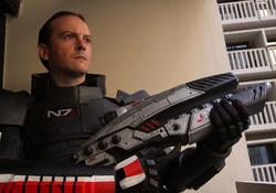 Male N7 Armor & M8 Rifle