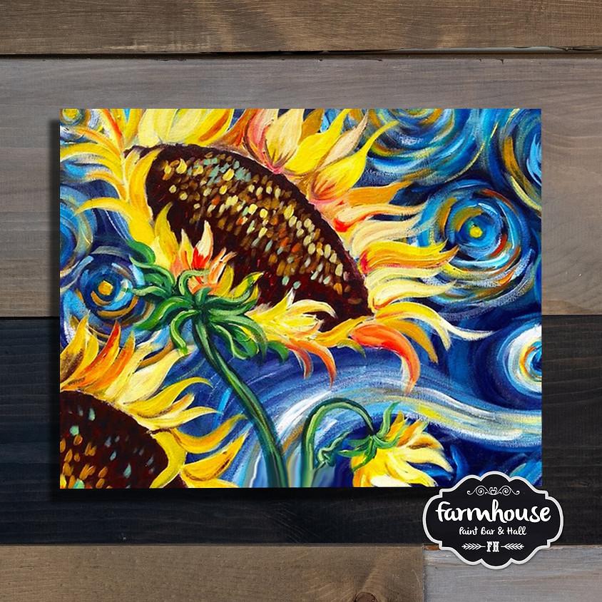 Van Gogh Sunflowers - Step by Step Plein Air Painting Class