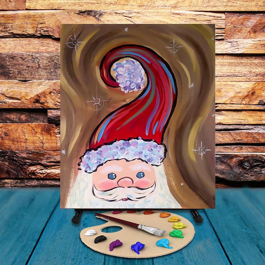 Santa Claus - Virtual Step by Step Painting Class