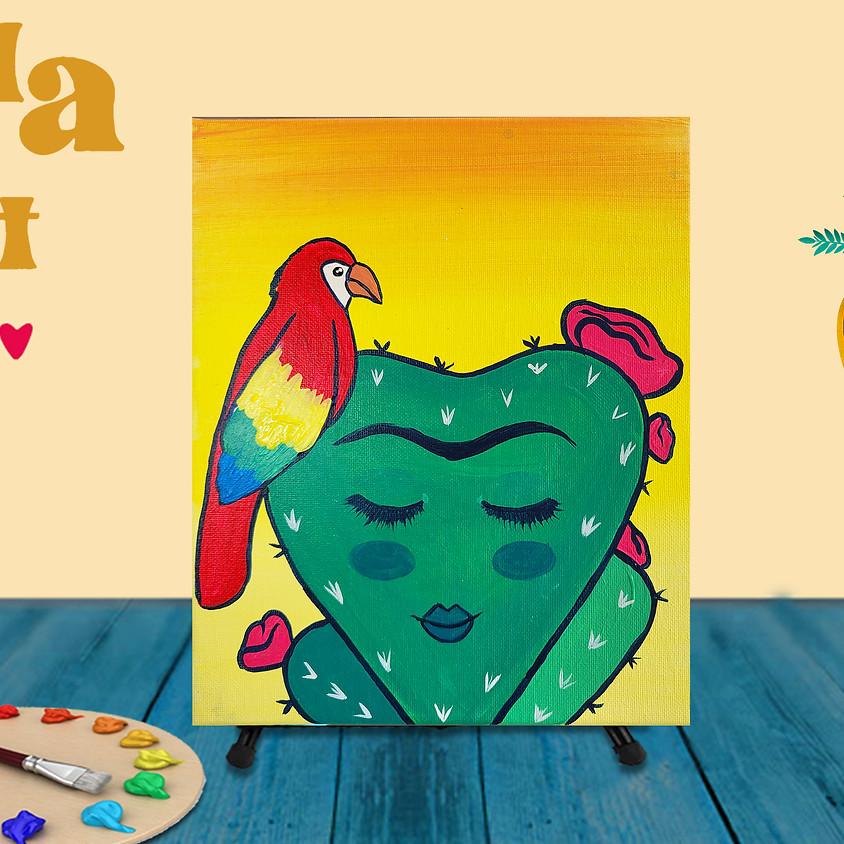 """Frida Fest Painting Class """"Cactus Frida"""""""