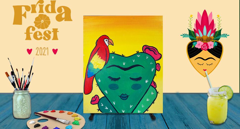 Cactus Frida, Sat July 31st, 6pm