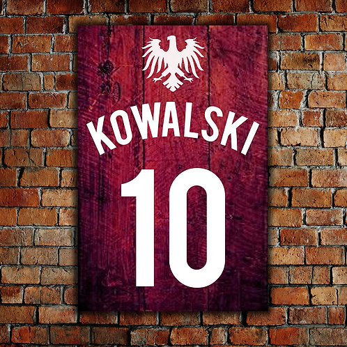 Jersey Kowalski - Woodsign Making Experience