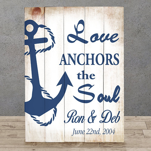 Love Anchors the Soul - Wood Sign Making Experience
