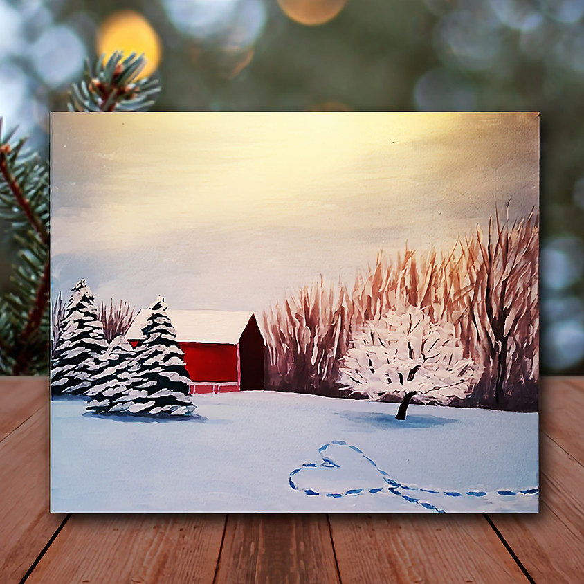 Whitnall Park - Step by Step Painting Class