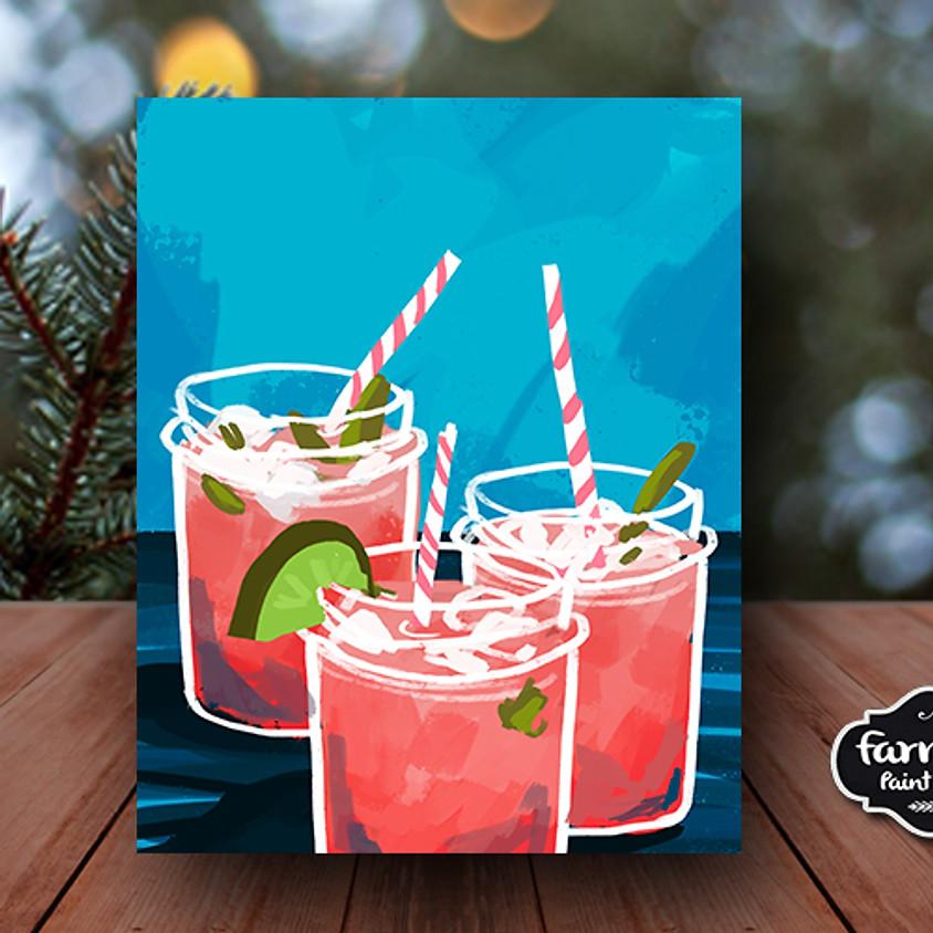 Margaritas - Step by Step Plein Air Painting Class