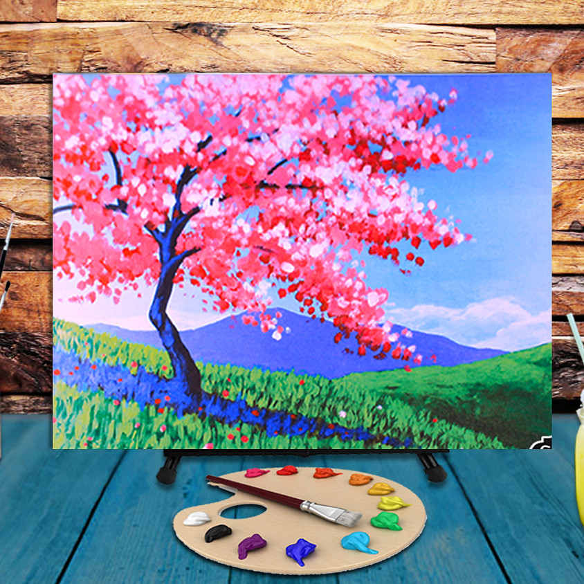 Full Bloom Beauty -  Step by Step Painting Class