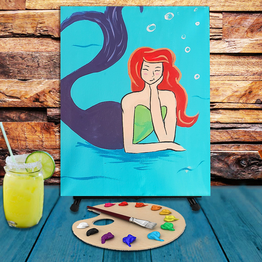 Mermaid  - Step by Step Plein Air Painting Class