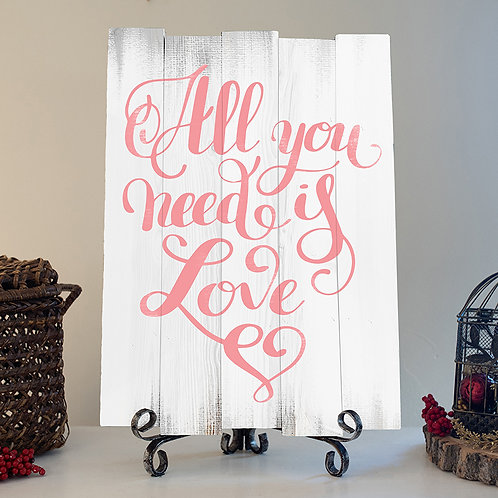 All you Need is Love - Woodsign Making Experience