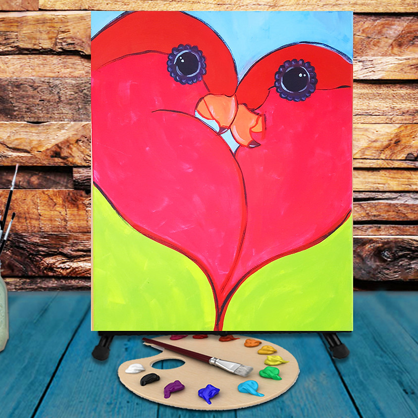 Love Birds - Step by Step Painting Class