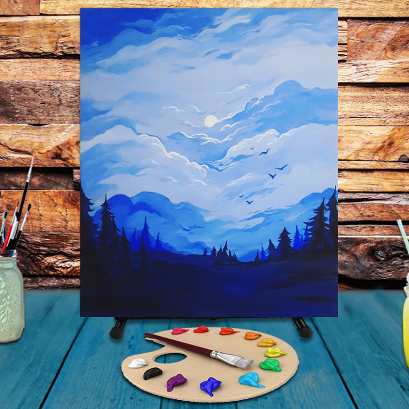Magic Night -  Step by Step Painting Class