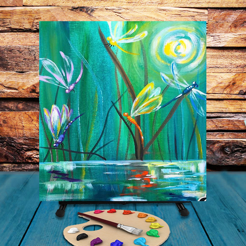 Dragonflies -  Step by Step Painting Class