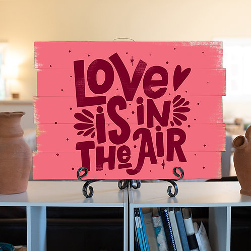 Love is in the Air - Woodsign Making Experience