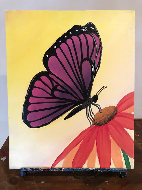 Butterfly (16x20 canvas)